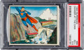 "Non-Sport Cards:Singles (Pre-1950), 1940 Superman ""Danger At The Dam"" #66 PSA EX+ 5.5. ..."