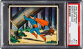 "Non-Sport Cards:Singles (Pre-1950), 1940 Superman ""Danger In The North Woods"" #70 PSA EX+ 5.5. ..."
