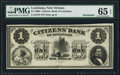Obsoletes By State:Louisiana, New Orleans, LA- Citizens' Bank of Louisiana $1 18__. ...