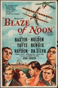 """Movie Posters:Action, Blaze of Noon (Paramount, 1947). One Sheet (27"""" X 41""""). Action....."""