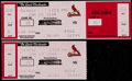 Baseball Collectibles:Tickets, 2004 Ken Griffey Jr. 500 Home Run Full Ticket and Stub....