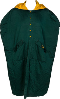 Mid 1960 s Green Bay Packers Game Worn Sideline Cape.... Football ... 00fc7361f