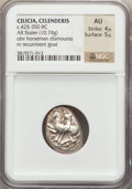 Ancients:Greek, Ancients: CILICIA. Celenderis. Ca. 425-350 BC. AR stater (10.74gm)....