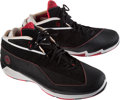 Basketball Collectibles:Others, 2007-08 Dwyane Wade Game Worn Shoes....