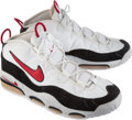 Basketball Collectibles:Others, 1995-96 Scottie Pippen Game Worn Chicago Bulls Shoes....