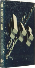 Books:Science Fiction & Fantasy, Joe Haldeman. INSCRIBED. The Forever War. London: Weidenfeldand Nicolson, [1974]....