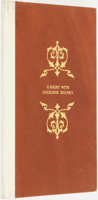 [Sherlock Holmes]. William O. Fuller. A Night with Sherlock Holmes. A Paper Read Before the 12mo Club