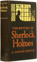 Books:Mystery & Detective Fiction, [Sherlock Holmes]. A. Conan Doyle. Charles Raymond Macauley,illustrator. The Return of Sherlock Holmes. New York: M...