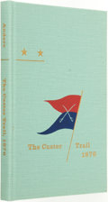 Books:Americana & American History, John M. Carroll, editor. Tom and Bob Heski, introduction.SIGNED/LIMITED. Frank L. Anders. The Custer Trail. ANar...