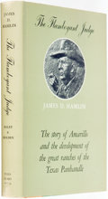 Books:Biography & Memoir, [Texana]. J. Evetts Haley and Wm. Curry Holden. Carl Hertzog, bookdesign and typography. INSCRIBED/SIGNED. The Flamboya...