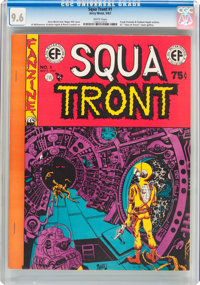 Squa Tront #1 (Jerry Weist, 1967) CGC NM+ 9.6 White pages