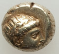 Ancients:Greek, Ancients: LESBOS. Mytilene. Ca. 377-326 BC. EL 6th stater or hecte(2.56 gm)....
