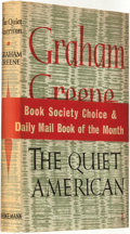 Books:Mystery & Detective Fiction, Graham Greene. The Quiet American. London: WilliamHeinemann, [1955]....