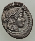 Ancients: SICILY. Syracuse. Deinomenid Tyranny - Second Democracy. Ca. 470-450 BC. AR litra (0.81 gm)