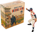 Baseball Collectibles:Hartland Statues, Vintage 1958-62 Hartland Eddie Mathews With Hang Tag and RetailBox. ...