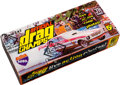 "Non-Sport Cards:Unopened Packs/Display Boxes, 1971 Fleer ""Drag Nationals"" Wax Box With 24 Unopened Packs. ..."