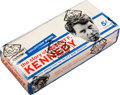 Non-Sport Cards:Unopened Packs/Display Boxes, 1968 Philadelphia Gum Robert F. Kennedy Wax Box With 24 Packs. ...