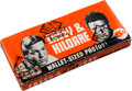 "Non-Sport Cards:Unopened Packs/Display Boxes, 1962 Topps ""Casey and Kildare"" Cello Box With 24 Unopened Packs...."