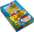 Non-Sport Cards:Unopened Packs/Display Boxes, 1974 Topps Wacky Package Posters Wax Box...
