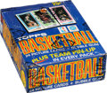 Basketball Cards:Unopened Packs/Display Boxes, 1980 Topps Basketball Wax Box With 36 Unopened Packs - Magic/Bird Rookie Year! ...