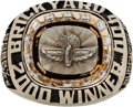 Miscellaneous Collectibles:General, 2000 Brickyard 400 Champion Bobby Labonte Winning Team Ring. ...