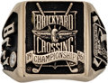 Golf Collectibles:Medals/Jewelry, 1996 Jimmy Powell PGA Senior Tour Brickyard Crossing ChampionshipRing. ...