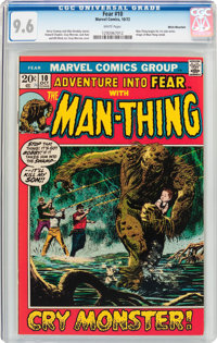 Fear #10 White Mountain Pedigree (Marvel, 1972) CGC NM+ 9.6 White pages