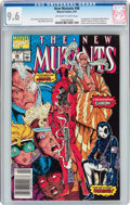 Modern Age (1980-Present):Superhero, The New Mutants #98 (Marvel, 1991) CGC NM+ 9.6 Off-white to whitepages....