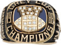 Football Collectibles:Others, 1988 Winnipeg Blue Bombers Grey Cup Championship Ring....