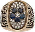 Football Collectibles:Others, 1978 Dallas Cowboys NFC Championship Ring Presented to Cornell Green....