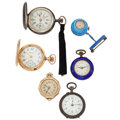 Timepieces:Other , Six Various Watches. ... (Total: 6 Items)
