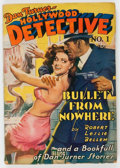 Pulps:Detective, Dan Turner - Hollywood Detective #1 (Culture, 1942) Condition:FR....