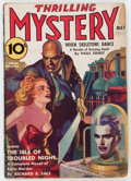 Pulps:Horror, Thrilling Mystery - May 1938 (Standard) Condition: GD/VG....