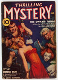 Pulps:Horror, Thrilling Mystery - January 1939 (Standard) Condition: VG....