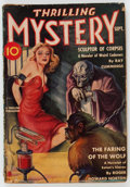 Pulps:Horror, Thrilling Mystery - September 1939 (Standard) Condition: VG-....