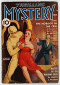 Pulps:Horror, Thrilling Mystery - November 1939 (Standard) Condition: GD+....