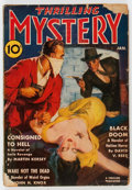 Pulps:Horror, Thrilling Mystery - January 1940 (Standard) Condition: GD....