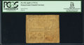 Colonial Notes:Pennsylvania, Pennsylvania April 3, 1772 2s PCGS Apparent Fine 15.. ...