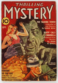 Pulps:Horror, Thrilling Mystery - September 1941 (Standard) Condition: VG/FN....