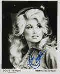 Autographs:Celebrities, [Country Music] Dolly Parton Autographed Photo. ...