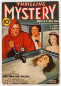 Pulps:Horror, Thrilling Mystery - November 1940 (Standard) Condition: GD/VG....