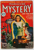 Pulps:Horror, Thrilling Mystery - July 1942 (Standard) Condition: FN....