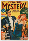 Pulps:Detective, Thrilling Mystery - September 1942 (Standard) Condition: VG/FN....