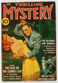 Pulps:Detective, Thrilling Mystery - March 1943 (Standard) Condition: FN....