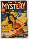 Pulps:Detective, Thrilling Mystery - June 1943 (Standard) Condition: VG....