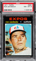 Baseball Cards:Singles (1970-Now), 1971 Topps Ron Swoboda #665 PSA NM-MT 8....
