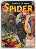 Pulps:Hero, The Spider - August 1940 (Popular) Condition: VG....