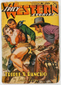 Pulps:Western, Spicy Western Stories - January 1942 (Culture, 1942) Condition: Average GD....
