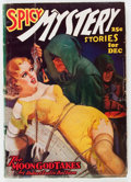 Pulps:Horror, Spicy Mystery Stories - December 1936 (Culture) Condition: GD....