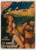 Pulps:Horror, Spicy Mystery Stories - September 1941 (Culture) Condition:Apparent GD....